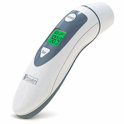Forehead Thermometer with Ear Function- iProven DMT489 - FDA and CE Approved