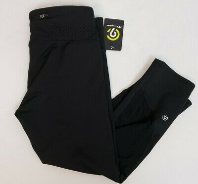 C9 by Champion Women's Capris Leggings Size S Black Running Cropped Activewear