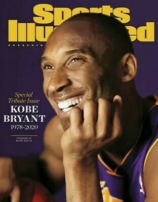 Kobe Bryant Sports Illustrated SI Special Commemorative Tribute Issue 1978-2020
