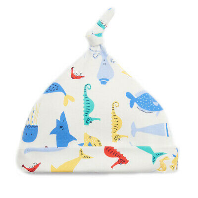 Joules Baby Boys Koo Knotted Hat Cream Sea Time Design