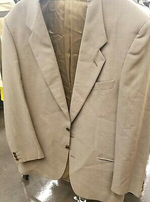 Valentino Uomo Wool blazer Mens Suit Jacket 37R coat 2 button Italy