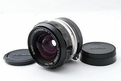 [Exc] Nikon Nikkor N. C Auto 24mm f/2.8 Non Ai MF Wide Angle Lens from Japan