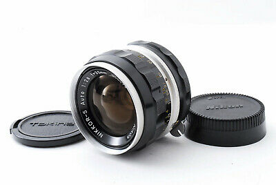 [Exc] Nikon Nikkor S Auto 35mm f/2.8 Non Ai MF Wide Angle Lens from Japan