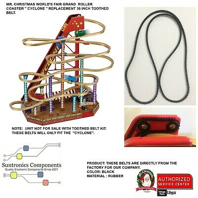 Mr Christmas World's fair Grand Roller Coaster - PART  36 INCH TOOTHED BELT