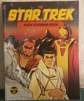 Star Trek Alien Coloring Book ISBN 0-671-63245-0