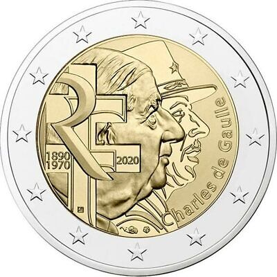 #Rm# 2 Euro Commemorative France 2020 - Charles De Gaulle
