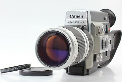 【EXC+5】 Canon Auto Zoom 1014 Electronic Super 8 Movie Camera From Japan #295
