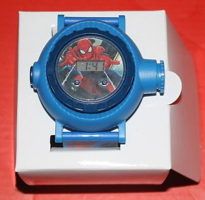2014 Avon Marvel ULTIMATE SPIDERMAN PROJECTION WATCH Spider-Man OB