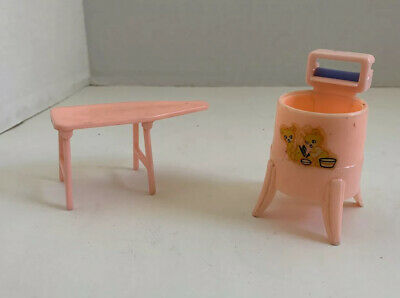 VTG Renwal Wringer Washer & Ironing Board Dollhouse Furniture No 32 and 31