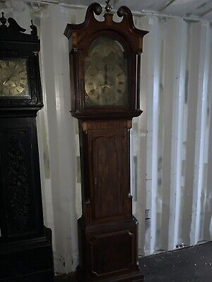 Collection Of 3 Long Case Grandfather Clocks