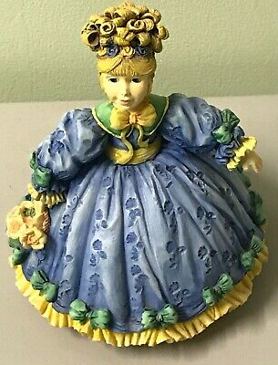 Willow Hall figurine Veronica Lady Girl Ornament Collectable
