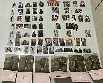 GFRIEND Labyrinth Official Photocard / Pop Up Card / Weply / Preorder Benefit