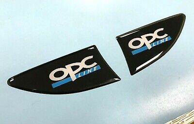 OPC Line Corsa Indicator/Repeater Stickers - GLOSS DOMED GEL - Vauxhall