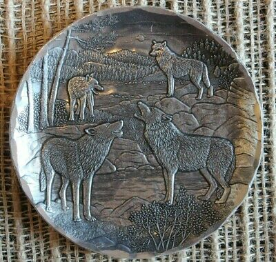 Wendel August Howling Wolf Plate Small