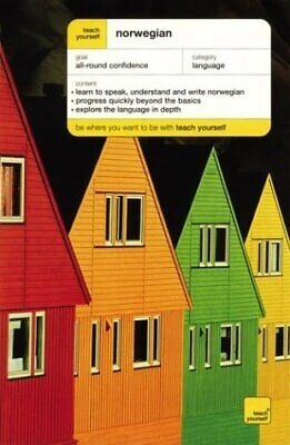 TEACH YOURSELF NORWEGIAN COMPLETE COURSE By Margaretha Danbolt Simons