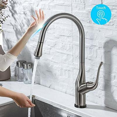 Westbrass H352811-07 Dual Handle Kitchen Faucet in Brushed Nickel