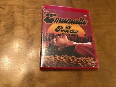 Emanuelle in America Blu ray*Mondo Macabro*Red Case*NEW*Limited Ed*1500 Made*
