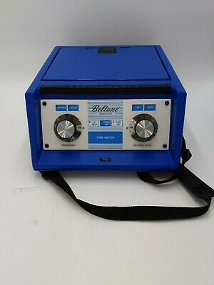 Beltone Audio Scout Audiometer w Headset, Power Adaptor Tested Works