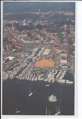 The Annual United States Powerboat Show, City Dock, Annapolis, Maryland Postcard