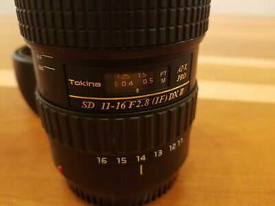 Tokina AT-X PRO 11-16mm f/2.8 Pro DX Digital Lens for Canon