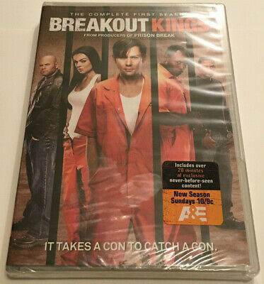Breakout Kings: The Complete First Season 4-Disc DVD Set (2012) Sealed BRAND NEW
