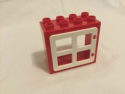Lego ® Fenêtre Rouge Vintage Red Windows with long still ref 645bc01