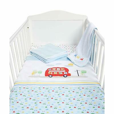 Mothercare Bed In Bag - Cot Bed / Cot Bedding Set - On The Road