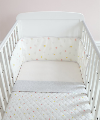 Mothercare - Welcome Home - Pink Spot - Bed in Bag - Cot Bedding Set