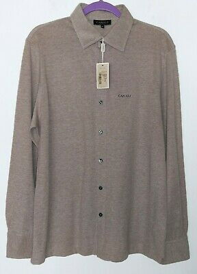 new CANALI Knit Cashmere-Cotton Casual Button Down Shirt,heathered beige ,$520
