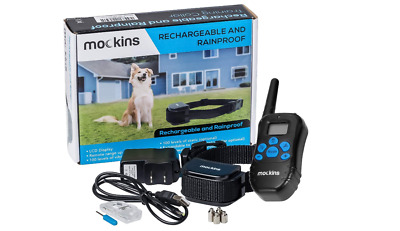 Electric Dog Collar Remote Shock Waterproof Petrainer Bark Training Small Large