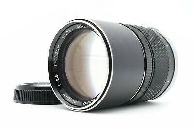 <Excellent> OLYMPUS OM-SYSTEM E.ZUIKO AUTO-T F/2.8 135mm Lens MF from Japan