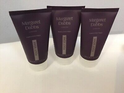 Margaret Dabbs Hydrating Foot Soak 3 x 45ml