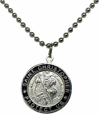 St. Christopher Surf Necklace