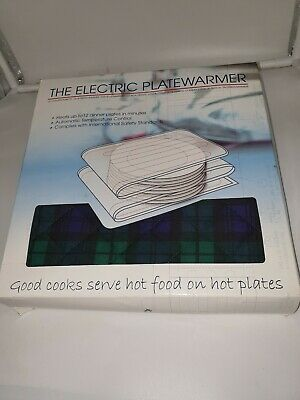 Electric Plate Warmer New heats 12 Dinner Plates