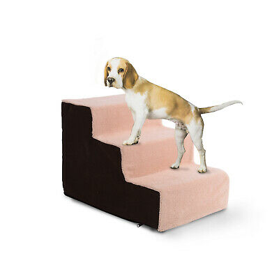 Padded Pet Non Outdoor Portable Bed High Quality Easy Floor Stairs House Fabric
