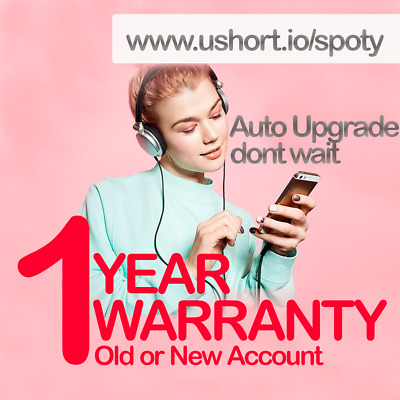 [1000+ Sold] Spotify Premium 12 Months Old Existing Or New Account Auto upgrade