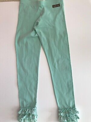 Matilda Jane Girls Size 6 Friends Forever Lacey Ruffled Leggings READ PLAY