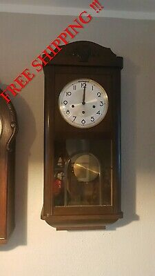 0300 - German Ave Maria and Westminster chime wall clock