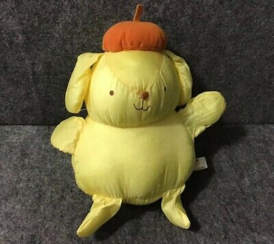 Vintage Sanrio 1990s PomPomPurin Yellow Pudding Puffalump Nylon Dog