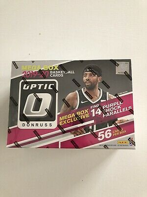 2019-20 Panini NBA Donruss Optic Basketball Trading Card Mega Box Target