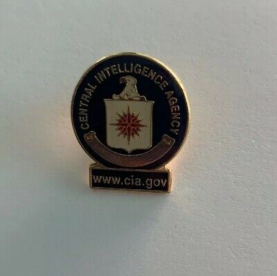 CENTRAL INTELLIGENCE AGENCY CIA Law Enforcement Hat Pin 15109 HO