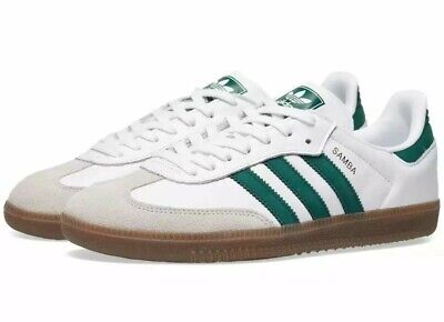 ADIDAS ORIGINALS SAMBA Og Green/White/Gum Sneakers B75680 ...