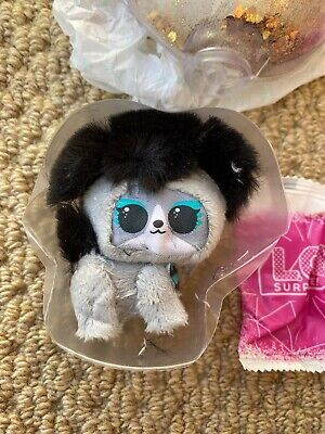 LOL Surprise Doll Pets Winter Disco Fluffy Pets PRECIOUS MEOW Rare New