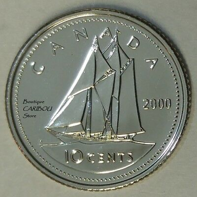 2000 Canada Proof-Like 10 Cents