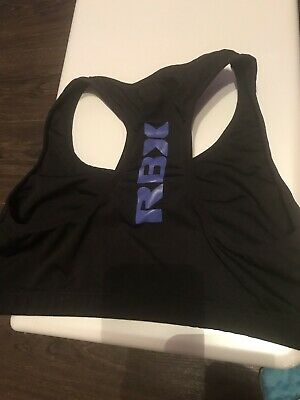 RBX BLACK SPORTS Bra Cropped Top