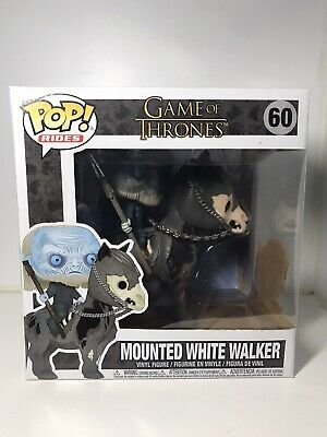 Funko Pop! Rides Game Of Thrones Mounted White Walker #60 Vinyl Figure