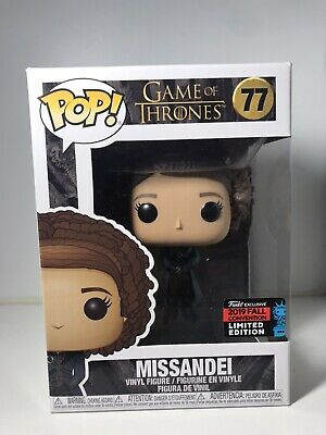Funko Pop! Missandei #77 Game of Thrones 2019 NYCC Shared Exclusive