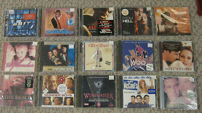 Motion Picture Movie Music & Musicals CD, Unopened, You Pick Lot