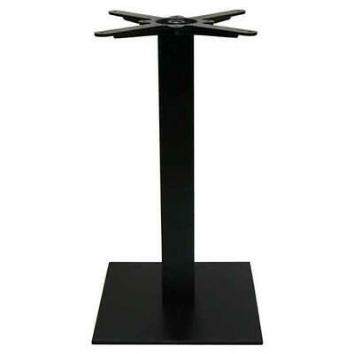 New Square Cafe Pedestal Cast Iron Table Base Dining Height Table Legs 720mm H