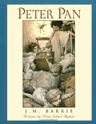 PETER PAN (SCRIBNER ILLUSTRATED CLASSIC) By J. M. Barrie - Hardcover *BRAND NEW*